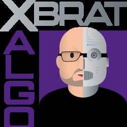 XBratAlgo logo grey large