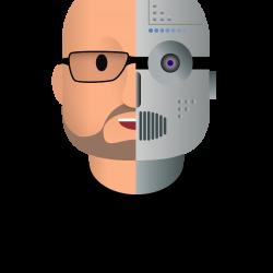 XBratAlgo robo head only